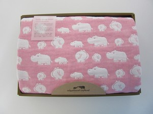 Elephant Fan Towel Gift Bathing Towel 1 Pc Pink