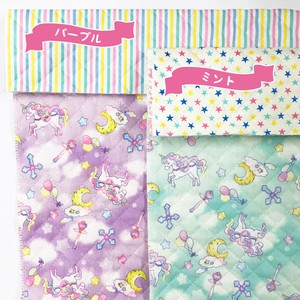 IRO COLE Reversible Quilt Fabric Unicorn Planet 2 Colors Fabric