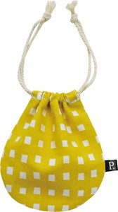 Pouch Checkered YELLOW