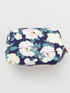 [ 2020NewItem ] Bicolor Peony Square Pouch