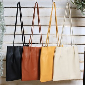 Double Bag Pouch Set Inner Bag Attached Leather Bag