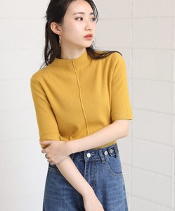 Petit High Neck Short Sleeve Pullover