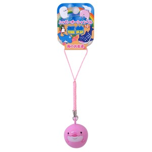 Good Luck Aqua Strap Happy Ocean Objects and Ornaments Ornament Dolphin Pink