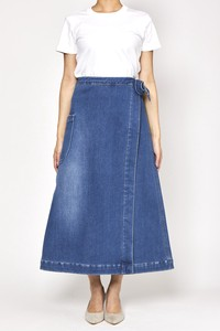 [ 2020NewItem ] Bonding Denim Skirt