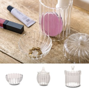Accessory Case Bowl Pot Accessory Canister Glass Case