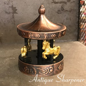 Antique Sharpener Merry-Go-Round Pencil Sharpener
