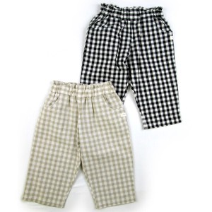 [ 2020NewItem ] Pants 6/10Length Gingham Check