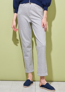 Fleece Denim Pants