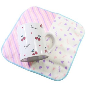 Milk Carton Mug Mini Towel Set