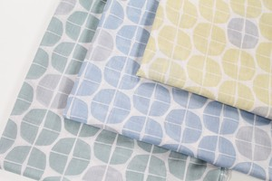 Fabric 3 Colors LE DEPART Premium soft Processing Geometric Design