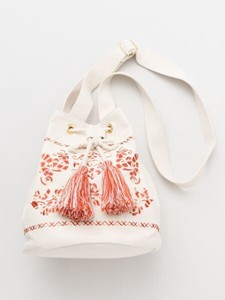 Design Hungary Embroidery Pouch Shoulder Bag