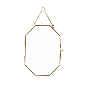 Poth Living Glass Frame Gold