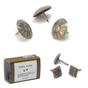 Push Pin Antique Interior Accessory