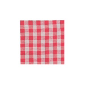 Poth Living Checkered Multi Cover Red