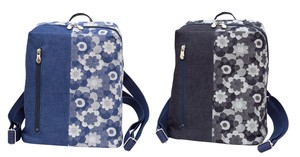 Okayama Denim Margaret Backpack Blue Blue Navy