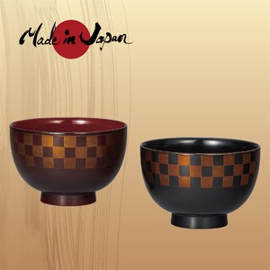 J-Story Soup BOWL in Pairs Checkered pattern