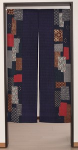 Japanese Noren Curtain Old Cloth