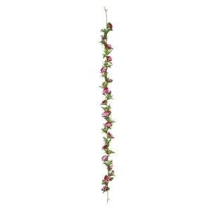 Rule Pansy Garland Pink Beauty Flower Artificial Flower