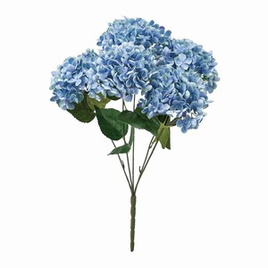 Hydrangea Blue Flower Artificial Flower