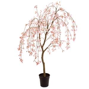 ★MAGIQ★しだれ桜鉢 ライトピンク アーティフィシャルフラワー 造花