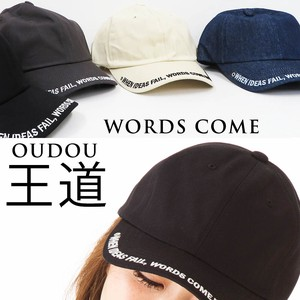 [ 2020NewItem ] S/S All Hats & Cap Cap Ladies Front Embroidery Fancy Goods Cotton