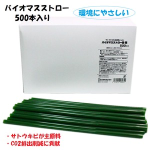 Environmentally Friendly Bio Straw 10mm
