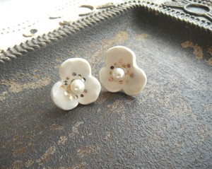 Flower Pierced Earring Earring