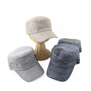 [ 2020NewItem ] Chambray Military Cap S/S Hats & Cap