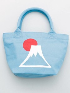 Design Walnut Pouch Bag Mt. Fuji