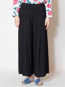 Design Tuck wide pants