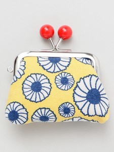 European Style Print Canvas Coin Purse