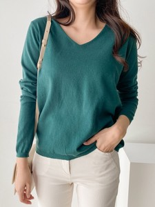 [ 2020NewItem ] 7 Colors Daily V-neck Knitted
