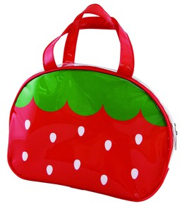 Period Vinyl Overnight Bag Strawberry