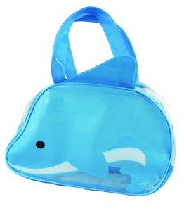 Period Vinyl Overnight Bag Dolphin