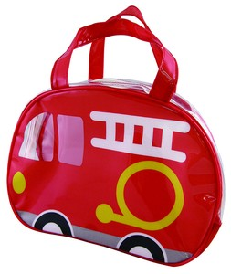 Period Vinyl Overnight Bag Fire Truck