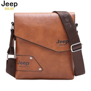 Shoulder Bag Men's Brand Vintage Leather