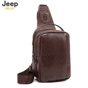 Body Bag Men's Brand Vintage Leather