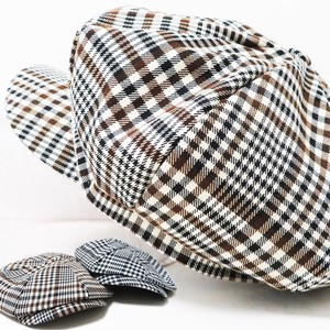 [ 2020NewItem ] S/S Casquette Hats & Cap Gingham Check Men's Ladies