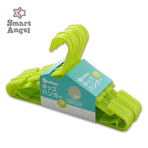 Kids Clothes Hanger 12 pieces Green
