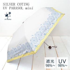 All Weather Umbrella Lace Checkered Countermeasure