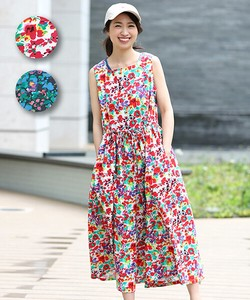 Flower Flower All-in-one Overall Leisurely Easy Casual Flower