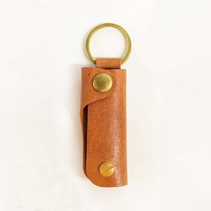Leather Key Case Genuine Leather Men's Ladies Camel