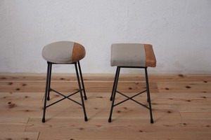 SK STOOL LOW/TWO TONE