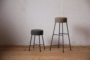 CANVAS STOOL LOW