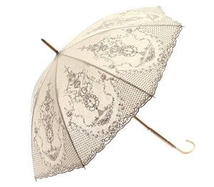 Embroidery Bowler Stick Umbrella [ 2020NewItem ]