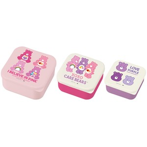 Care Bear SEAL Food Container PINK PURPLE Pink Purple