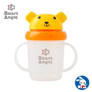 Bear Straw Mug Yellow