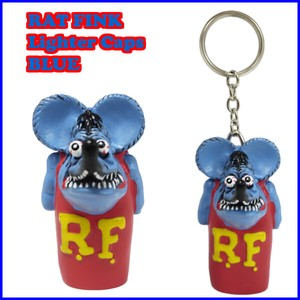 Rat Fink Cigarette Lighter Cap Bespoke Color BLUE