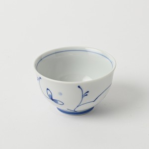 Pottery Original HASAMI Ware Arabesque Sen Tea(Green Tea) Hand-Painted