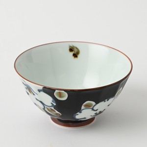 [ 2020NewItem ] HASAMI Ware Flower Japanese Rice Bowl Hand-Painted Pottery